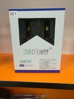 Used H11 led lights 360 200W for headlights in Dubai, UAE
