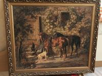 Used Cross stich painting hand made horses in Dubai, UAE