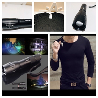 Used Bundle T-Shirt size 3XL & flashlight  in Dubai, UAE