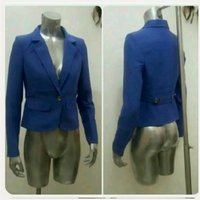 Used Brand new blue jacket small size..... in Dubai, UAE