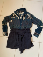 Used Zara offer shirt+shorts, s-m size in Dubai, UAE