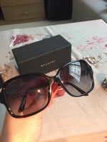 Used Bvlgari sunglasses, worn once only in Dubai, UAE