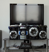 Used LCD TV with music system in Dubai, UAE