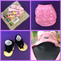 Used Baby Girl Stuffs + 🎁  in Dubai, UAE