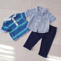 Used Set for baby boy, size 3-6, 6-9 M in Dubai, UAE