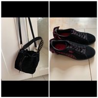 Used Combo sude puma and bucket bag in Dubai, UAE