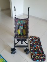 Used Umbrella Stroller with CuddleCo Insert in Dubai, UAE