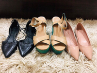 Used Bundle of Aldo flats & sandals. Size 38 in Dubai, UAE