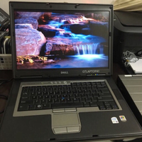 "Dell M65 15"" Laptop c2d 3GB 200GB HDD"