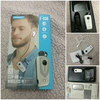 Used Fineblue clip-on wireless headset in Dubai, UAE