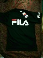 Fila shirt new size, M, L black colour