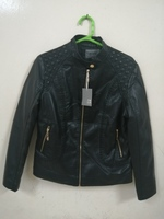 Used Slim Fit Leather Jacket,Moto Biker in Dubai, UAE