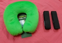 Used Travel pillow and 2 belts in Dubai, UAE