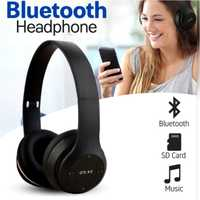 Used New black bluetooth foldable headphones in Dubai, UAE