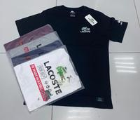 Used Lacoste Men T-shirt Large 12pcs in Dubai, UAE