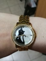 Used Nice golden cat style watch in Dubai, UAE