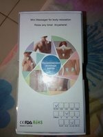 Used Hanamichi mini body massager silver in Dubai, UAE