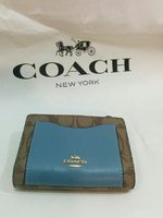 Used Coach wallet and Card holder NWT in Dubai, UAE