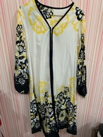 Used Yellow and black large dress in Dubai, UAE