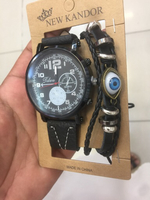 Used New two watch with bracelet and 3 rings in Dubai, UAE