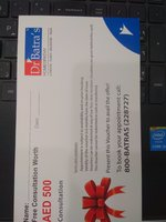 Used Gift voucher in Dubai, UAE