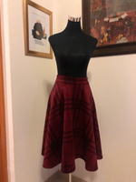 Used Suede skirt S&M  velvet leather  in Dubai, UAE