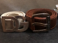 Used D&G and dsquared2 belts 100% original  in Dubai, UAE