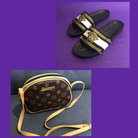 Used Fitflop/ 42 & Body Bag in Dubai, UAE