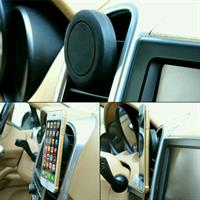 Magnetic holder for mobile and gps