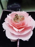 Used 2 in crown projection love ring. in Dubai, UAE