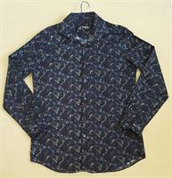 Used #wornonce#elle #formen #shirt #blue #printed #size16collar in Dubai, UAE