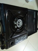 Used Portable gas stove with 2 gas refills in Dubai, UAE