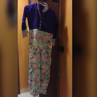 Used Flower print silk Kurti size m  in Dubai, UAE