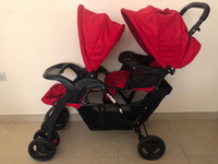 Used Double Stroller (2 months usage only) in Dubai, UAE