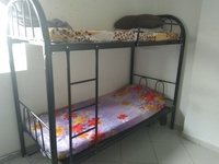 Used Bung bed with cot in Dubai, UAE