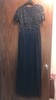 Used Evening Dress (Navy Blue) in Dubai, UAE