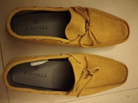 Used Authentic luxury brand Canali shoes in Dubai, UAE