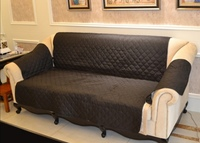 Used Perfect sofa coat 167cm x 190cm black in Dubai, UAE