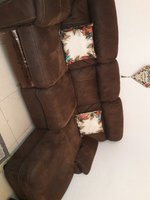 Used Big Sofa Set leather finish in Dubai, UAE