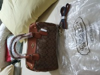 Used Coach hand bag in Dubai, UAE