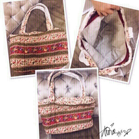 Used Beach Bag or Travel handbag floral ❤️ in Dubai, UAE