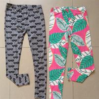 Cute Leggings For Girls Age 11yrs. 2 Pieces Brand New Made Of 100% Cotton