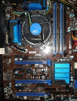 Used Msi Z77-A-G45 Gaming motherboard in Dubai, UAE