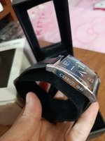 Used Original Cerruti watch leather black in Dubai, UAE