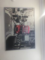 Used Wall Picture (Double Decker Bus) in Dubai, UAE