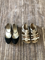 Used 2 pairs of sandals for a girl size 33-34 in Dubai, UAE