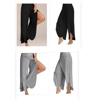 Used Women's slippants wide leg pants 2 pcs in Dubai, UAE