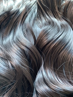 """Used Halo color black real hair extension 24"""" in Dubai, UAE"""