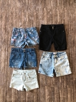 Used 5 shorts for a girl 9/10 years old bundl in Dubai, UAE