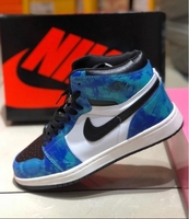 Used Nike high cut 42 size blue&black in Dubai, UAE